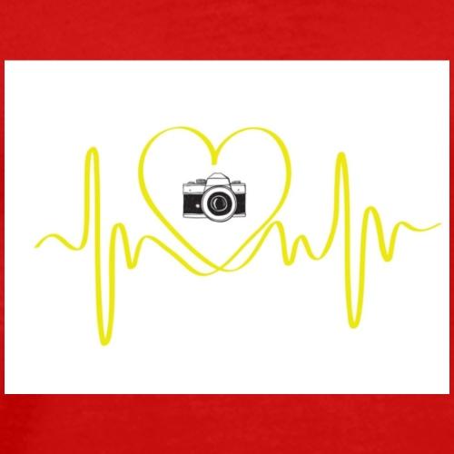 AMOR POR LA FOTOGRAFÍA - Camiseta premium hombre