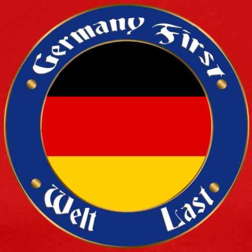 germany first - Men's Premium T-Shirt