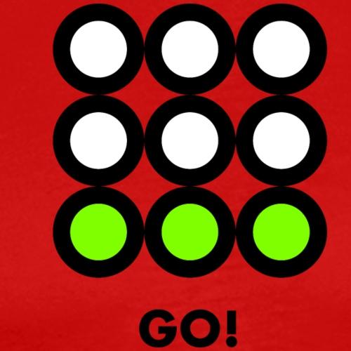 Go! Vedi anche i motivi Stop e Wait! - Maglietta Premium da uomo