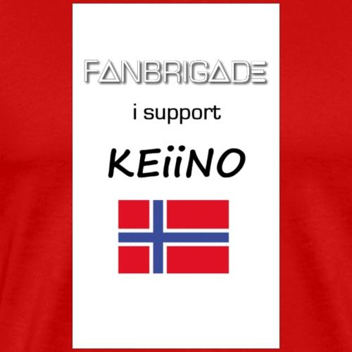 Fanbrigade KEiiNO - Herre premium T-shirt