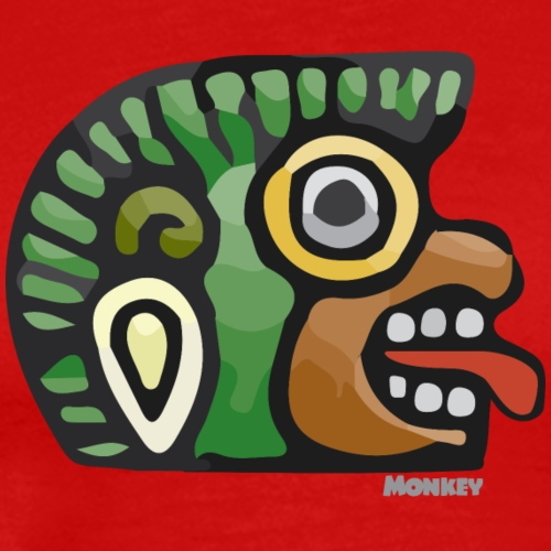 Aztec Icon Monkey - Men's Premium T-Shirt