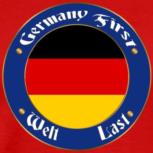 germany first - Men's Premium T-Shirt