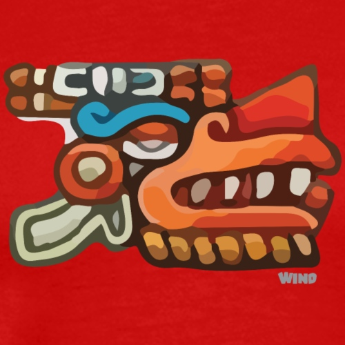 Aztec Icon Wind - Men's Premium T-Shirt