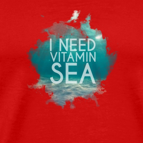 Vitamin Sea - Premium-T-shirt herr