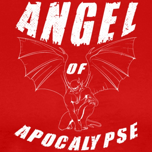 ANGEL of apocalypse white - Men's Premium T-Shirt