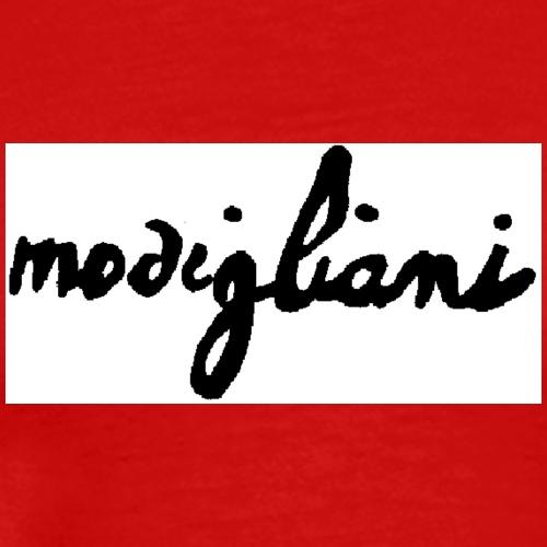 firm_white_black_big - Maglietta Premium da uomo