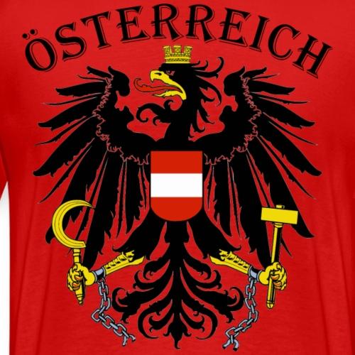 Österreich Österreich Adler Wappen Patriot Austria - Männer Premium T-Shirt