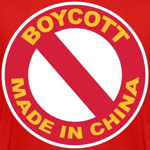 Boycott design - T-shirt Premium Homme