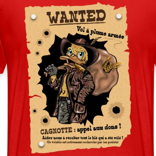 Wanted - T-shirt Premium Homme