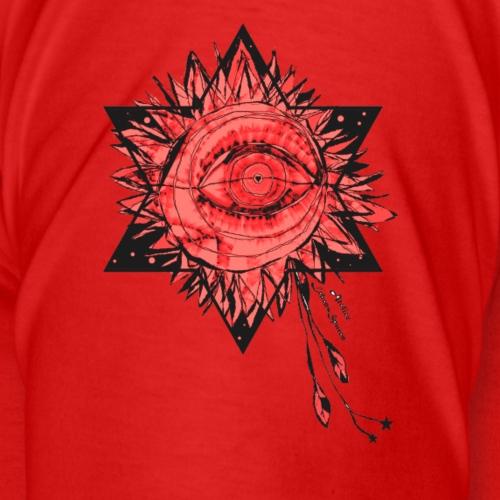 Rotes HimmelsAuge - Männer Premium T-Shirt