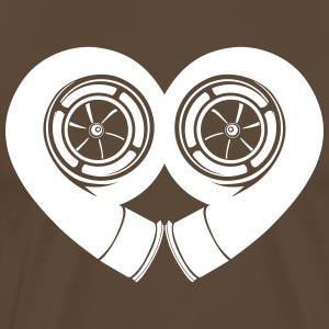 turbocharger liefde - Mannen Premium T-shirt