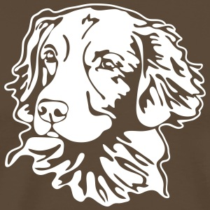 NOVA SCOTIA DUCK TOLLING RETRIEVER PORTRAIT - Männer Premium T-Shirt