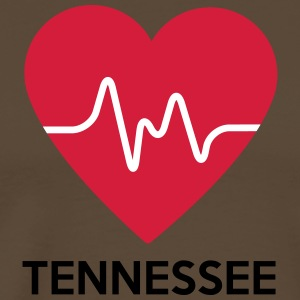 heart Tennessee - Men's Premium T-Shirt