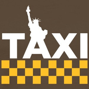 New York Taxi - Herre premium T-shirt
