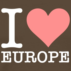 I Love Europe! - Men's Premium T-Shirt