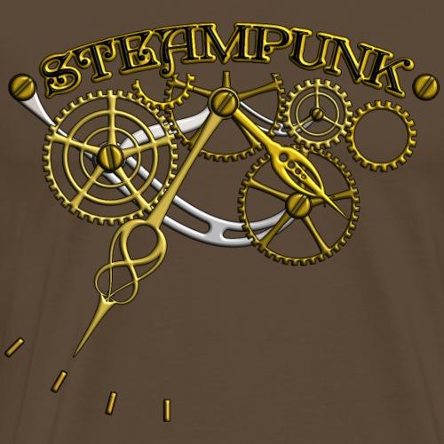 Steampunk Design - Männer Premium T-Shirt