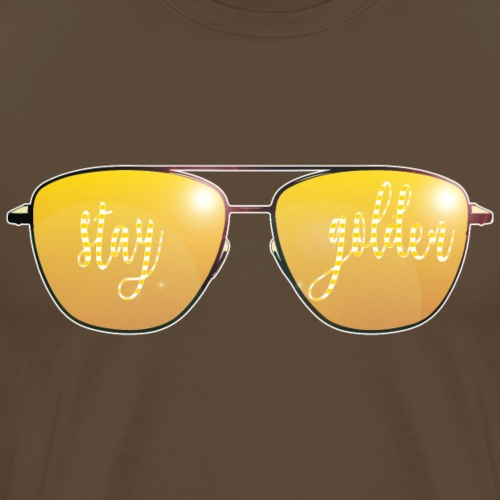 Stay Golden Sunglasses - Maglietta Premium da uomo