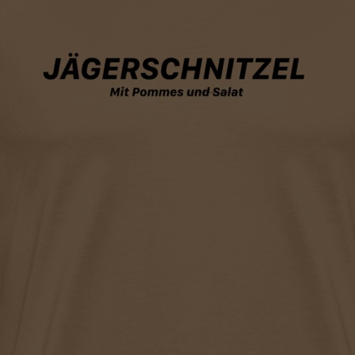 Jägerschnitzel - Männer Premium T-Shirt
