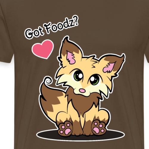 Brown Fox - Got Foodz? - Men's Premium T-Shirt
