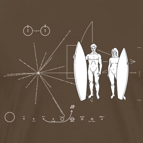 Pioneer plaque Surfboarder - T-shirt Premium Homme