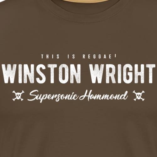 Winston Wright Supersonic Hammond | This is reggae - Camiseta premium hombre