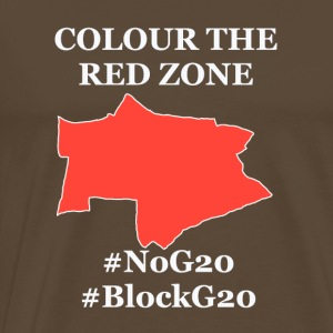 Color the red Zone - Men's Premium T-Shirt