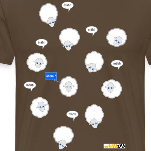 mähh - ähhm - Männer Premium T-Shirt