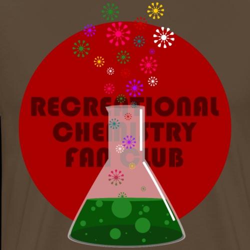 Recreational Chemistry Fan Club (rojo) - Camiseta premium hombre