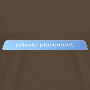 Private placement - Men's Premium T-Shirt