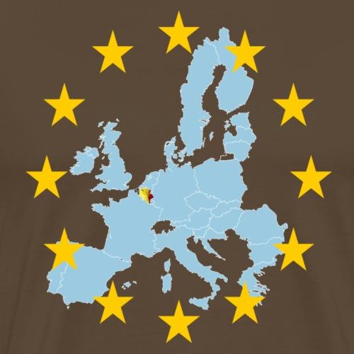 EU Belgium (EU Belgien) - Männer Premium T-Shirt