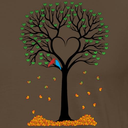 Drzewko zakochanych - Koszulka męska Premium