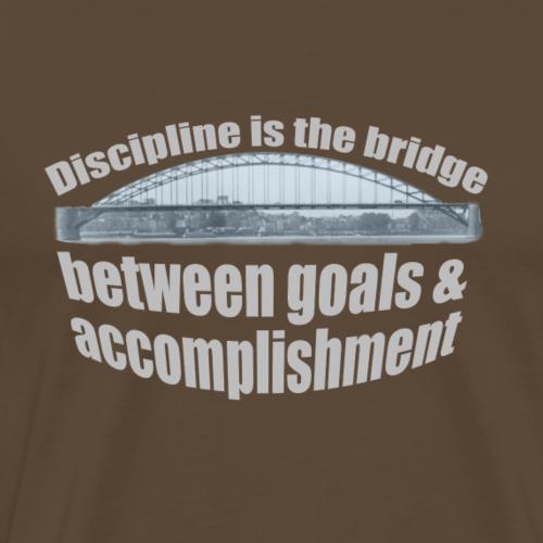 Nijmegen Vierdaagse - Brug Nijmegen Quote - Mannen Premium T-shirt