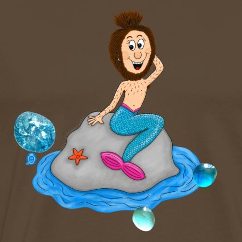 Uffi mermaid - Männer Premium T-Shirt
