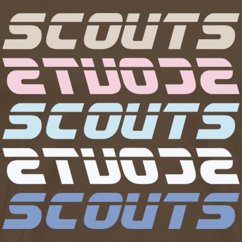 SCOUTS Retro Typo Pastell Mix