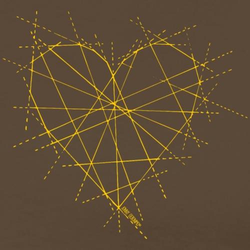 JOIN HEART (GELB) - Männer Premium T-Shirt