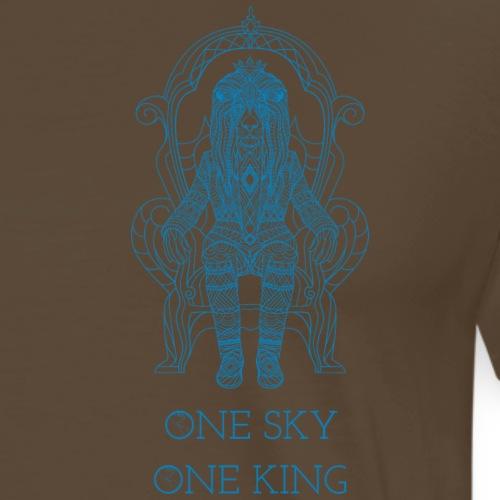 Ein Himmel ein König. - Männer Premium T-Shirt