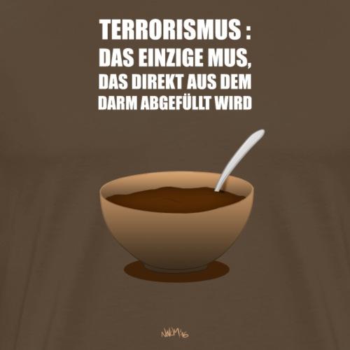 Terroris-Mus - Männer Premium T-Shirt