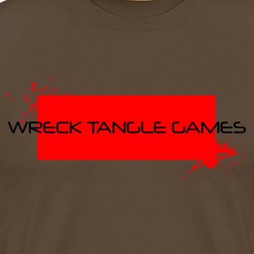 Wreck Tangle Games Logo - Men's Premium T-Shirt