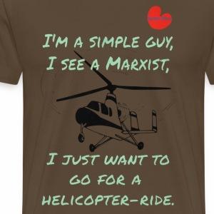 Helicopter-ride - Mannen Premium T-shirt