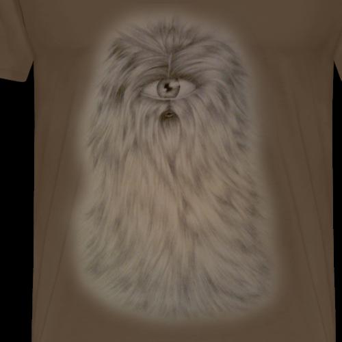 Włochacz - Jednooki, mały, przyjazny stworek - Koszulka męska Premium