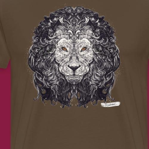 Löwe Sternzeichen - Männer Premium T-Shirt