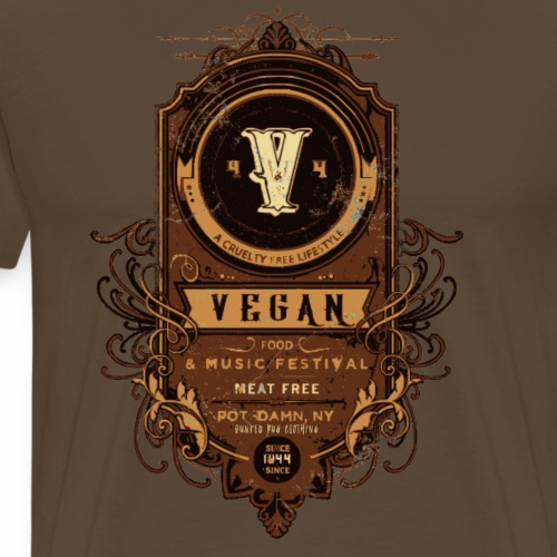Vegan Festival - Men's Premium T-Shirt
