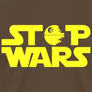 stop Wars - Premium T-skjorte for menn