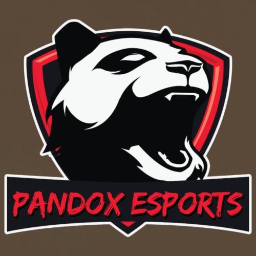 Pandox eSports | Rot/Schwarz/Weiss - Männer Premium T-Shirt
