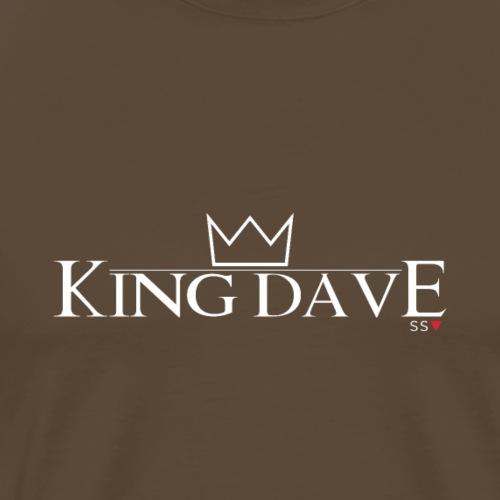 King Dave (For darker colours) - Men's Premium T-Shirt