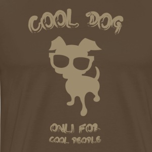 COOL DOG ​​Tortora - Männer Premium T-Shirt