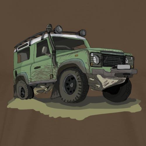 Offroad Ikone - Ninety - Männer Premium T-Shirt