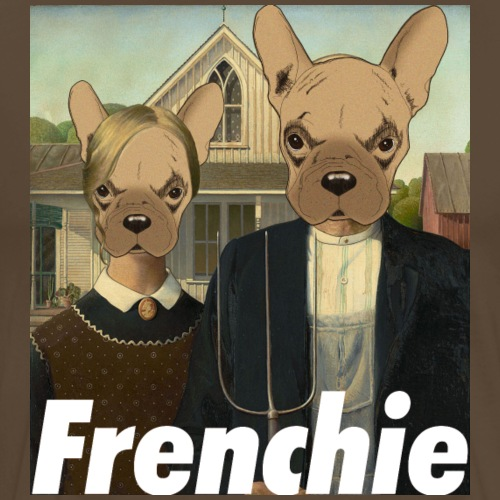 Canadian Frenchie - T-shirt Premium Homme