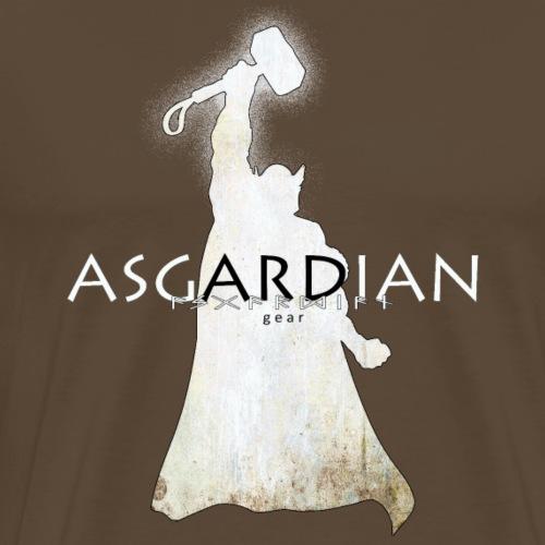 Asgardian Thor (weiß) - Männer Premium T-Shirt