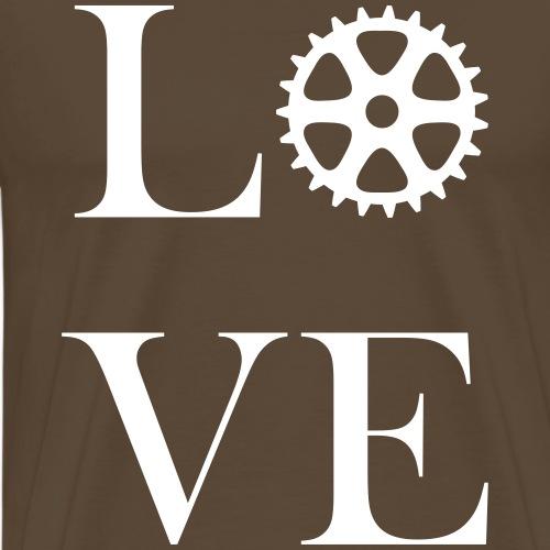 Liebe zum Radfahren - Männer Premium T-Shirt